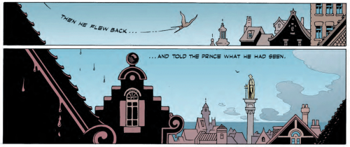 Exclusive First Look from OSCAR WILDE'S FAIRY TALES V. 5; THE HAPPY PRINCE By P. Craig Russell