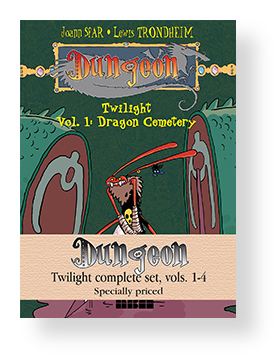 DUNGEON: TWILIGHT COMPLETE SET, VOLS 1-4